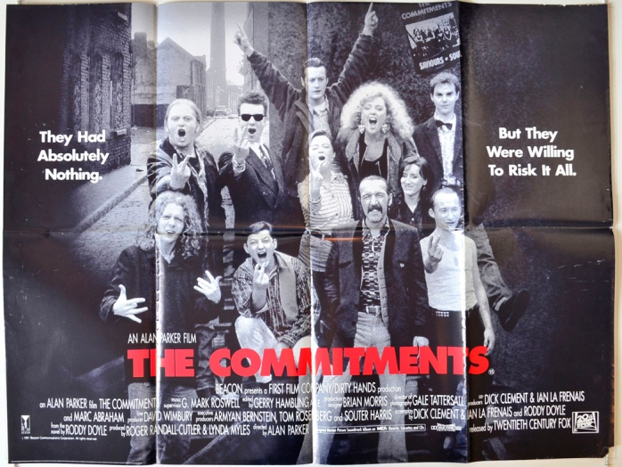 The Commitments : Cinema Quad Poster