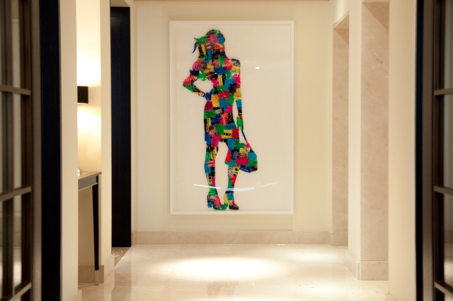 """""""New Shoes"""" Artwork at The Arch London"""